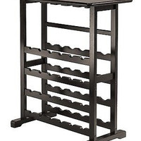 Wine Bottle Glass Holder Rack Wine wood bar storage 24 Bottle Cabinet Vodka
