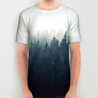 A Wilderness Somewhere All Over Print Shirt by Tordis Kayma
