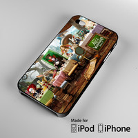 alice and wonderland party A0234 iPhone 4S 5S 5C 6 6Plus, iPod 4 5, LG G2 G3, Sony Z2 Case