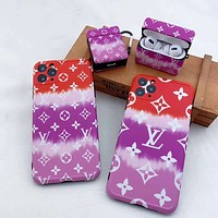 Louis Vuitton LV Summer Beach iPhone11pro Apple Xs Max mobile phone case XR lens all-inclusive 7p mobile phone case