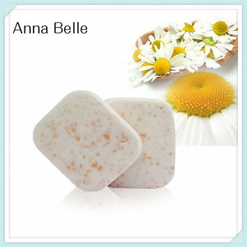 New 2pcs PVA Chamomile Facial Cleaning Sponge Puff Family Wash Face Clean Bathing Accessory Beauty Tool CLEANSER