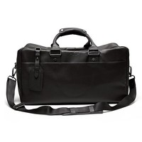 Banana Republic Mens Leather Duffel Size One Size - Brown