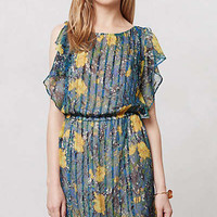 Anthropologie - Pleated Daylily Dress