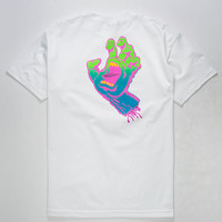 SANTA CRUZ Neon Screaming Hand Mens T-Shirt | Graphic Tees