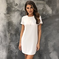 Mandy Shift Dress in Ivory