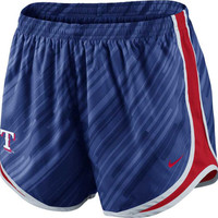 Texas Rangers MLB Womens Seasonal Tempo Short
