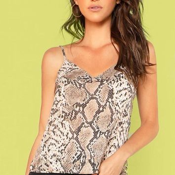 Bentley Snakeskin Cami Top