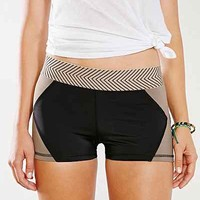 Olympia Activewear Brown Xena Hot Short - Urban Outfitters