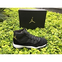 Air Jordan 11 Black Velvet Heiress 11s Retro XI Outdoor Sports Shoes Athletics High Quality With Box