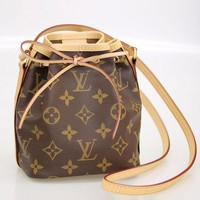 LV Louis Vuitton Stylish Women Classic Shoulder Bag Bucket Bag I