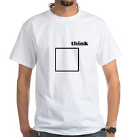 think outside the box Men's Classic T-Shirts