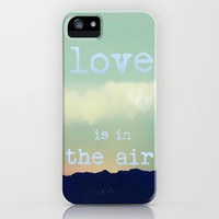 ♥ ♥ ♥ Love Is In The Air ♥ ♥ ♥ iPhone Case by SUNLIGHT STUDIOS | Society6