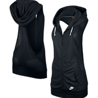 Nike Women's Three-D Sleeveless Hoodie