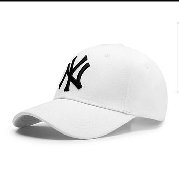 New York Yankees MLB baseball cap Summer Women Men Embroidery Sports Sun Hat NY Baseball Cap Hat Red