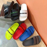 Balenciaga Summer beach sandals and slippers-8