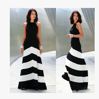 Fashion Prom Dress Ladies Sexy Sleeveless Backless Maxi Dress Formal Evening Party Date Cocktail Ball Gown Dress Bridesmaid Dress = 5841926145