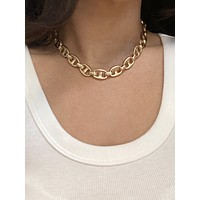 Cameron Gold Mariner Chain Necklace