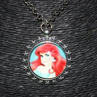 "Awesome ""Little Mermaid - Ariel"" Pendant Necklace"