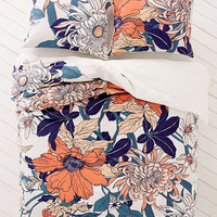 Botanical Scarf Duvet Cover | Urban Outfitters