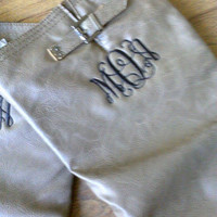 Monogram Riding Boots, Preppy Boots, Back to School Special!
