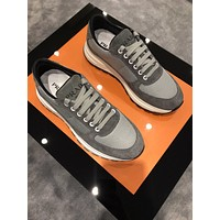 prada men fashion boots fashionable casual leather breathable sneakers running shoes 182