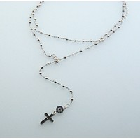 Handmade Evil Eye Protection Cross Necklace