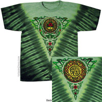 Grateful Dead - Celtic Knot Steal Your Face Tie Dye T Shirt on Sale for $25.95 at HippieShop.com