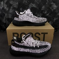 adidas Yeezy Boost 350 V2 Black Reflective Running Shoes - Best Deal Online