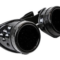 Plain Black Goggles DIY Cosplay Cyber Goth Glasses