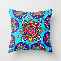 Underwater Throw Pillow by PeriwinklePeacoat