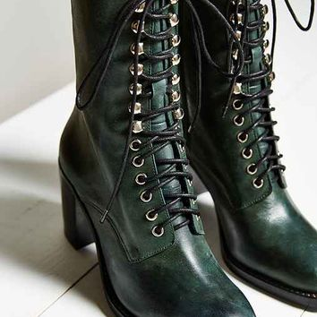 Jeffrey Campbell Caspian Lace-Up Boot