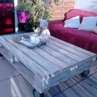 coffee table / palet