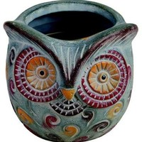 WoodWick 15 Oz Owl Campfire Marshmallow Candle
