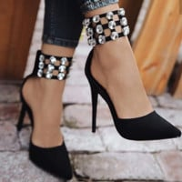 Hot style popular hollow water drill hollow pointed single shoes