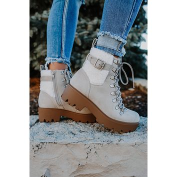 Stacy Boots - Taupe