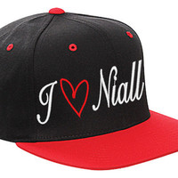 one direction hat i love niall cap snapback love one direction harry louis niall