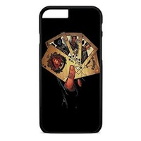 Marvel Card The Heroes iPhone 4 Case Black