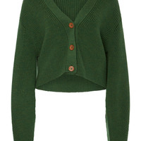Cropped Bell Sleeve Sweater | Moda Operandi