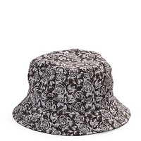Dark Floral Bucket Hat