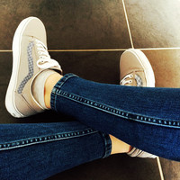 """""""Vans"""" With Warm Casual Shoes Men and women classic black cloth shoes Grey(braid line)"""