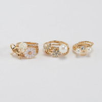 Rose Bow Ring 10-Pack