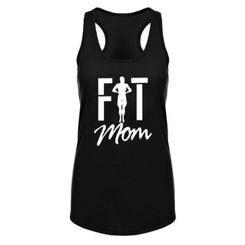 Fit Mom Fitness Workout Racerback Tank Tops