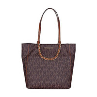 Michael Kors Harper Large North/South Tote Bag, Brown
