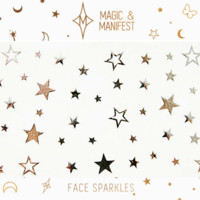 MAGIC & MANIFEST Silver Star Beauty Stickers