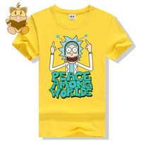 Rick and Morty  Peace T-Shirt