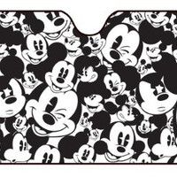Disney - Mickey Expressions Car Sunshade Auto Accessories 58 x 28in