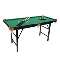 Folding Mini Outdoot 4.7' billiard table Pool Table with Green Cloth for Adults on Sale - Walmart.com