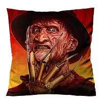 FREDDY KRUEGER HORROR VILLAINS Cushion Case Cover