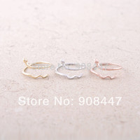 10 PCSlot-R062   Luxury Rose Gold Plated Small Snake Rings For Girls Gifts Trendy Vintage Good Quality MS