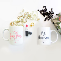 MR. & MRS. COFFEE MUG GIFT SET